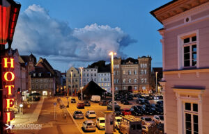 Karoo Mediengestaltung Fotografie Stralsund City Night